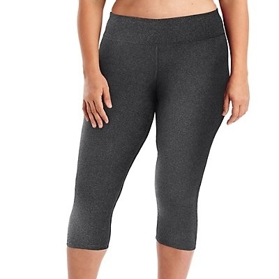 02f4d1d3f8e Just My Size 617914193799 Active Performance Capri Leggings Granite Heather  Size 16-in Pants   Capris from Women s Clothing on Aliexpress.com