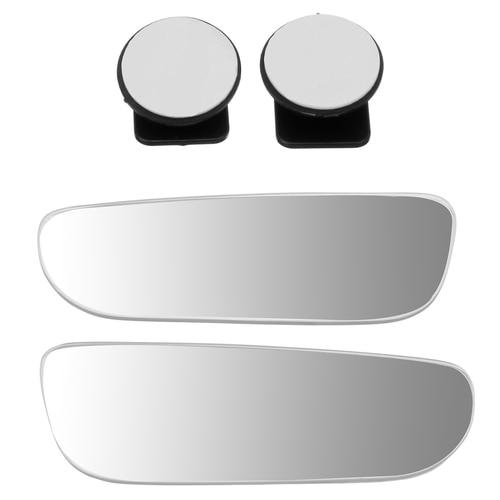 2pcs Blind Spot Mirror Wide Angle Mirror 360 Degree Adjustable Convex Rear View Mirror Car Mirror Universal Lahore