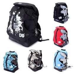 2019 Новинка для взрослых роликовые коньки обувь сумка портативный водостойкий нейлоновый холст рюкзак 20-35l большой емкости сумка