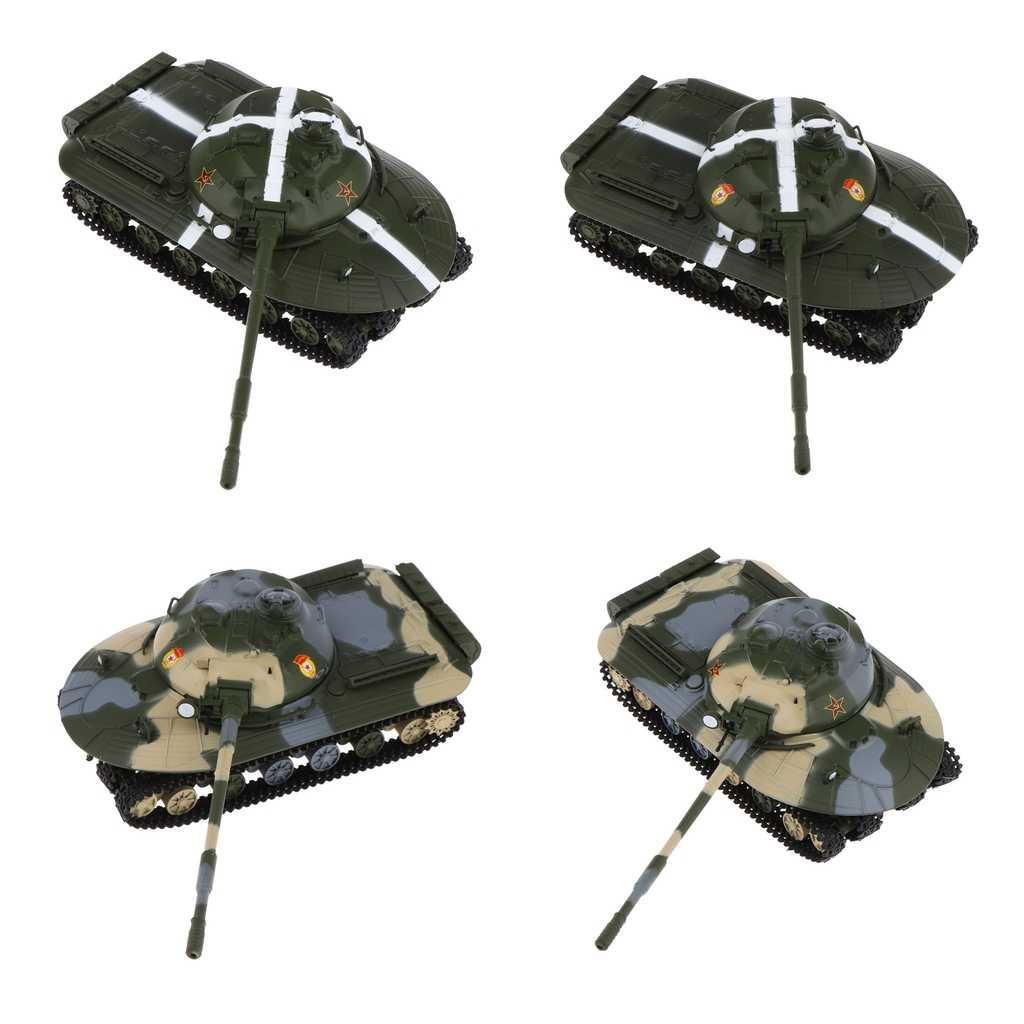 1/72 Scale Tank Model Alloy Plastic Assemble Tank Model Military Sand Table Toys For Children Gift Army Vehicle Models