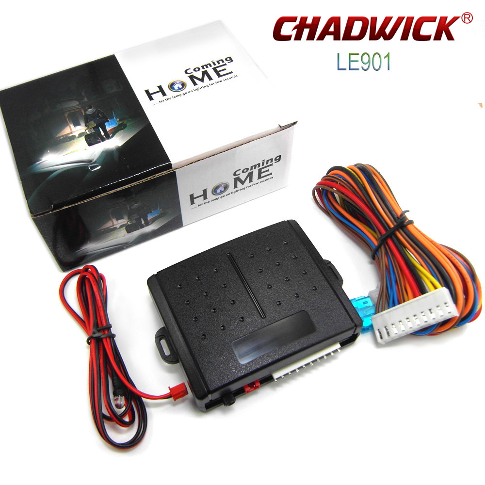 Car Coming Home Sensor Auto Light Time-lapse Controller Car Lights In Darkness Adjustable Car Headlight Delayer CHADWICK LE901
