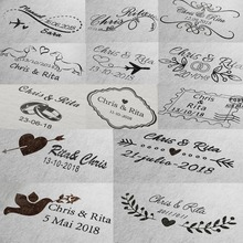 custom stamp wedding Self Inking stamp for invitation address envelope Rectangle 31x41mm personalized stamp