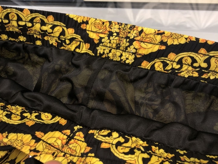 Xxxxl 2019 Nova Marca de Moda Designer Homens Pranchinha Curto Praia Swim Curto Plus Size Coroa Tema Religião Impressão - 5