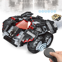 384 pcs Blocks Bricks Remote Control Toy Car DIY Assemble Model building block 2.4G RC Educational Toys Robot car Boy gift