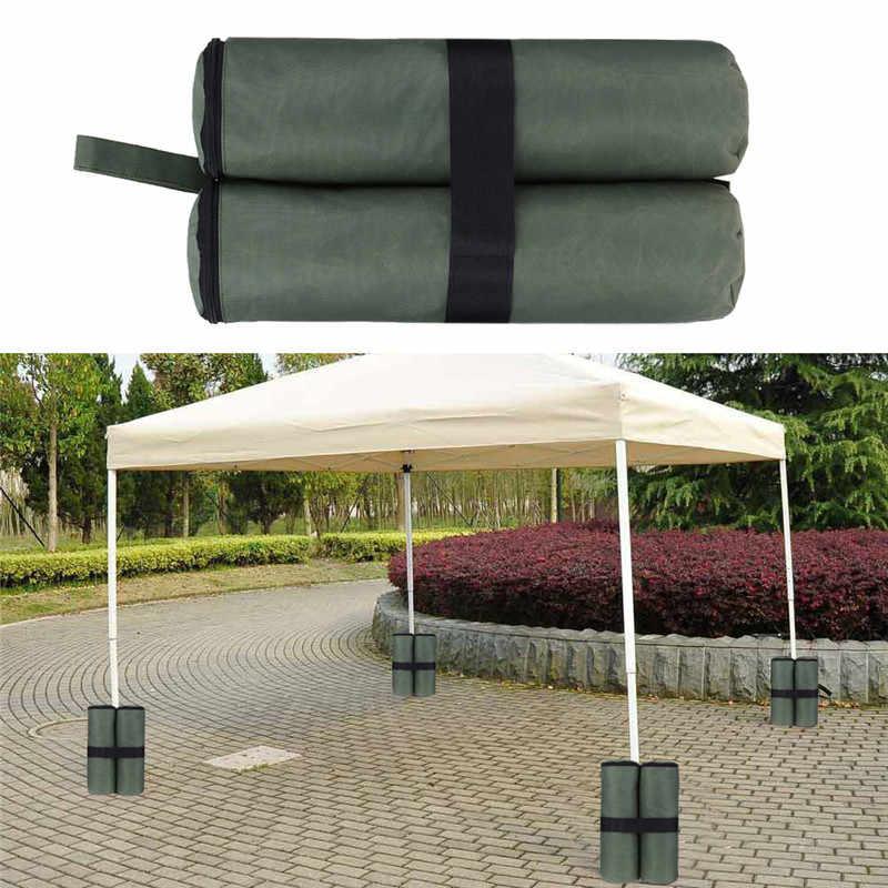 4 adet gölgelik kum barınak çadır ağırlık çantası dayanıklı çardak tentesi bacak ağırlıklı kum torbaları Pop Up gölgelik çadır ayak kum torbaları