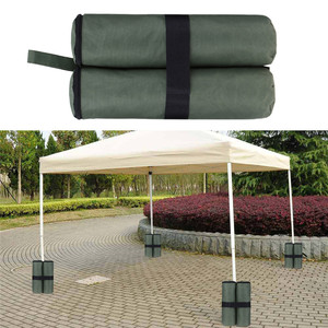 Image 3 - 4Pcs  Canopy Sand Shelter Tent Weight Bag Durable Gazebo Tent  Leg Weighted SandBags Pop Up Canopy Tent Foot Sandbags