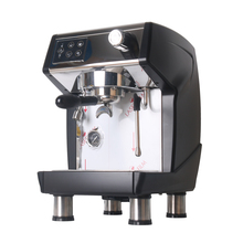 ITOP Commercial Semi-automatic Coffee Maker Italian Espresso  Machine Black And Red Color Cafe 220V