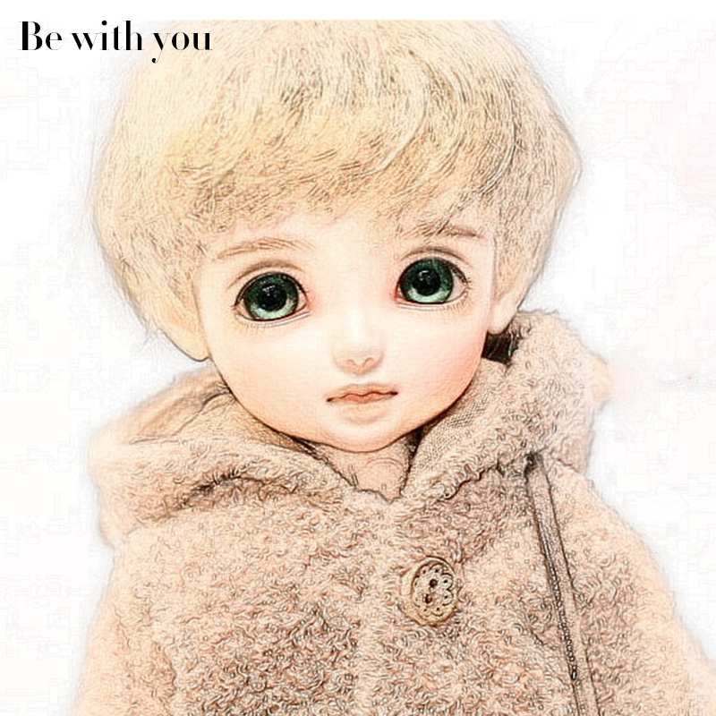 New arrival Oueneifs Be With You Strawberry BJD SD Doll 1/6 Resin Body Model Children High Quality Fashion Shop Sweeter Girl BWY