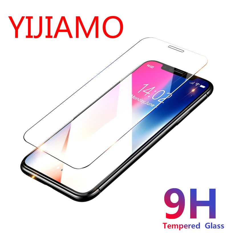 2.5D Tempered Glass For IPhone X XR XS Max Screen Protector For Iphone 4 4S 5S 5C 5 SE 6 6s 7 8 Plus Toughened Protective Glass