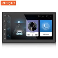 Zeepin 2 DIN 7.0 Inch Android Touchscreen Car Multimedia Player 2din Bluetooth WiFi GPS Navigator FM Station Radio Player