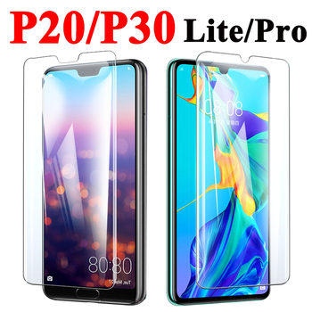 Tempered Glass P30 Lite On For Huawei P30 Protective P 20 30 Pro Screen Protector Hauwei 20p 30p Light Armor Sheet Saver Tremp image