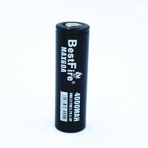 Image 2 - 1 pcs BESTFIRE 60A IMR 21700 4000 mah Flat Top Bateria de Lítio Recarregável para ECIG lanterna brinquedo carro notebook Li ion batteris