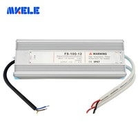100w 5v 12v 15v 24v 48v Waterproof Power Supply IP67 Transformer Led Driver For Led Strip From Makerele