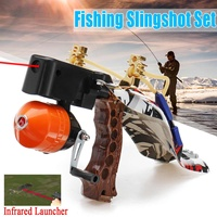 Outdoor Infrared Slingshot Fishing Hunting Set Pro Fish Shooting Arrow Catapult Launcher or Outdoor Fishing Hunting Accurate