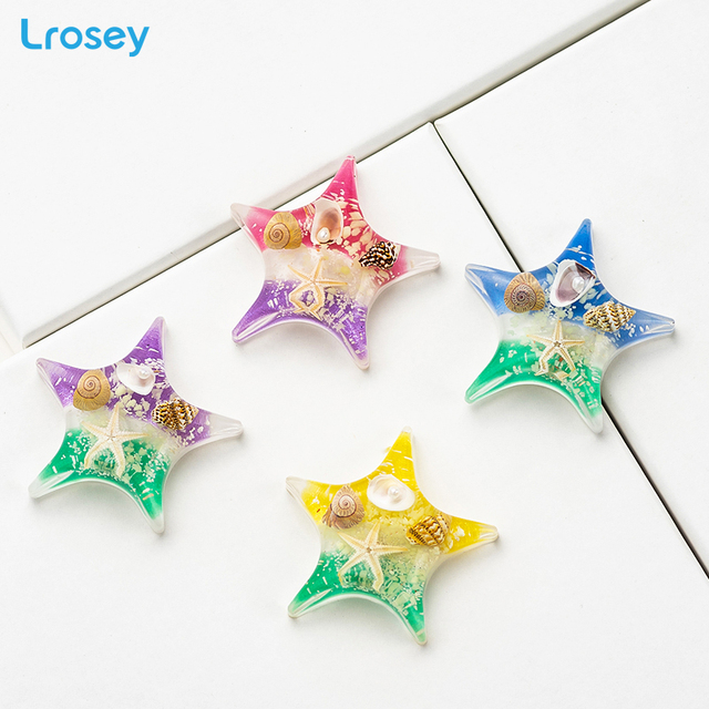 Fridge Magnet souvenir 2019 New magnets for refrigerators for kitchen Natural Starfish sea turtle home decoration accessories 5