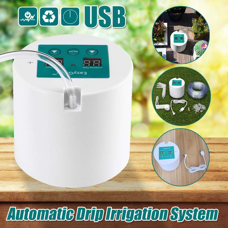 New Automatic Garden Watering Device Succulents Plant Drip Irrigation Tool Intelligent Water Pump Sprinkler System Controller New Automatic Garden Watering Device Succulents Plant Drip Irrigation Tool Intelligent Water Pump Sprinkler System Controller