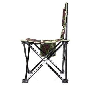 Image 3 - Mini Portable Folding Stool,Folding Camping Stool,Outdoor Folding Chair for BBQ,Camping,Fishing,Travel,Hiking,Garden,Beach,Oxf