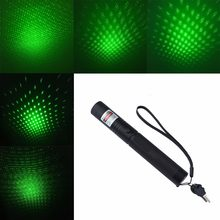 High Power 303 Red Green Laser Pointer 532nm Laser Pointer Pen Adjustable Focus Powerful Lazer Sight With Safe Key (No Battery)(China)