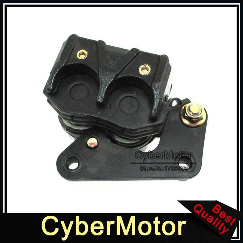 68.5mm avant disque frein étrier gauche pour 2 pistons Scooter cyclomoteur 50cc 125cc GY6 KYMCO Benzhou JMSTAR Jonway Baotian