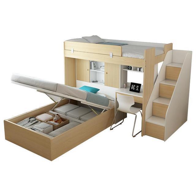 Mobilya Letto Matrimoniale Single Quarto Meble Room Set bedroom Furniture Cama Moderna Mueble De Dormitorio Double Bunk Bed