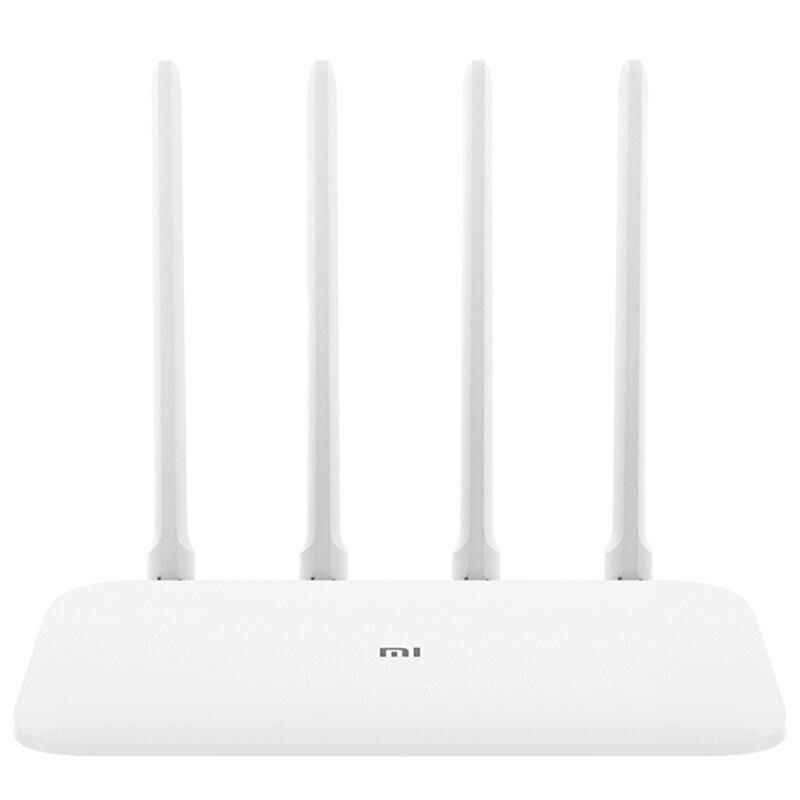 Xiao mi mi 4A routeur Gigabit édition 2.4 GHz + 5 GHz WiFi 16 mo ROM + 128 mo DDR3 haut Gain 4 antenne télécommande APP Support IPv6 - 2