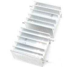 10 шт. алюминиевый TO-220 радиатор для 220 теплоотвод транзисторный радиатор TO220 кулер охлаждения 25X23X16 мм белый с 2Pin