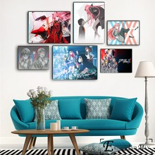 Darling In The Franxx Sexy Anime Figures Poster And Print Canvas Art Painting Wall Pictures For Living Room Home Decor Unframed