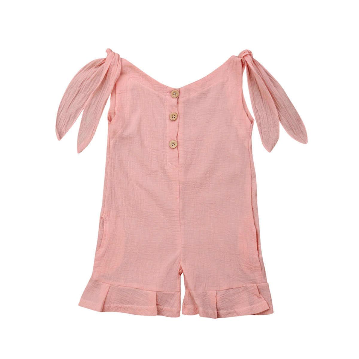2019 брендовый комбинезон без рукавов для новорожденных девочек, Boho, новый летний комбинезон без рукавов, праздничный летний костюм