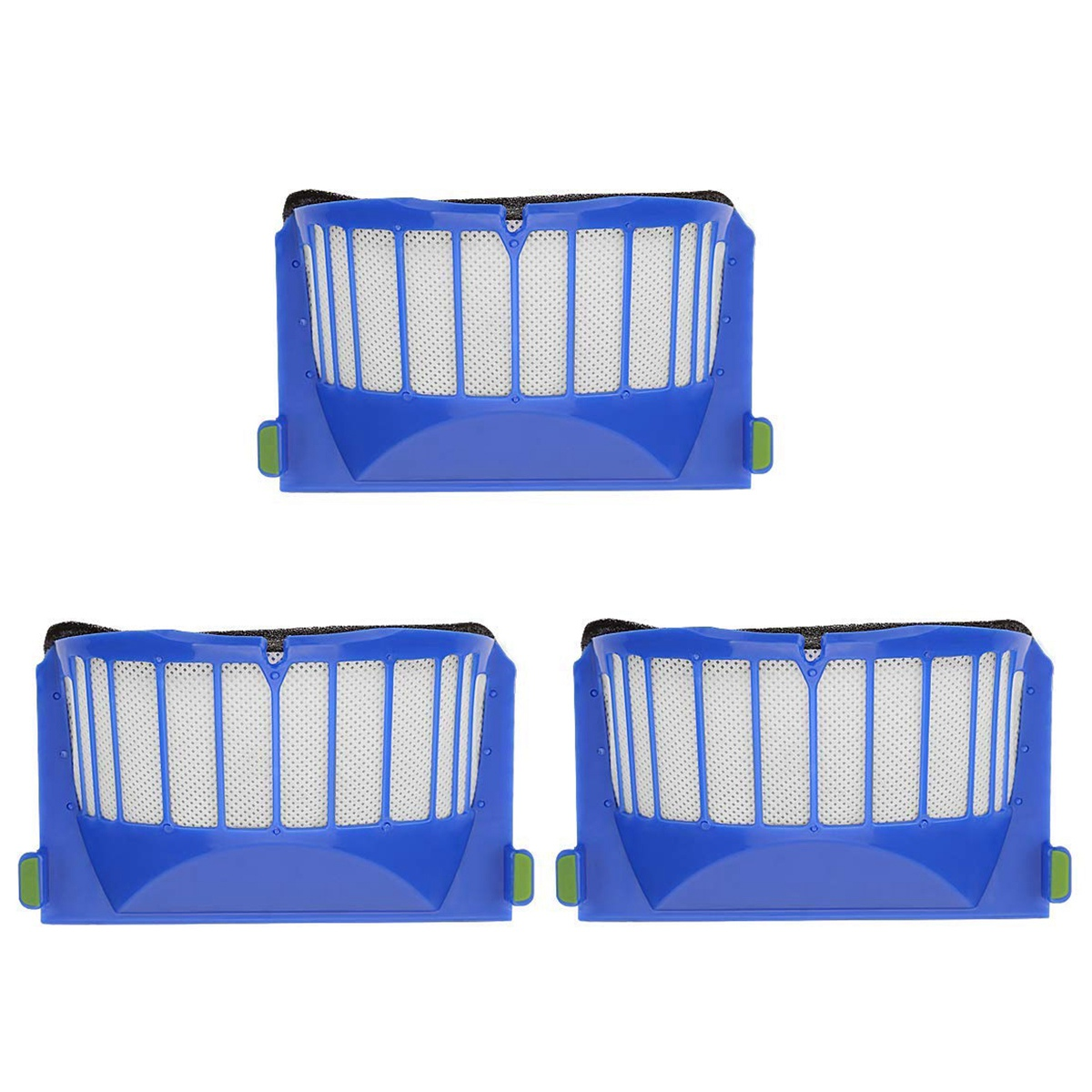 3 Pack 600 Series Replacement for Irobot Roomba 600 610 620 Serie Filters Roomba Accessori3 Pack 600 Series Replacement for Irobot Roomba 600 610 620 Serie Filters Roomba Accessori