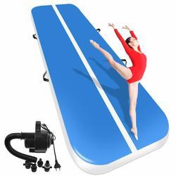 Новый (6m7m8m) * 1 м * 0,2 м надувной гимнастический надувной Трак, надувной батут для домашнего использования/тренировок/Черлидинга/пляжа