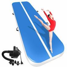 Nova (��) caminhão inflável de pista de ar, piso de ginástica para uso em casa/treinamento, 1m x 0.2m cheerleading/praia