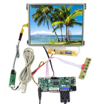 10.4inch HT10X21-311 1024X768 IPS LCD Screen With Touch Panel VS104TP-A1 work with HDMI VGA DVI LCD Controller Board M.NT68676