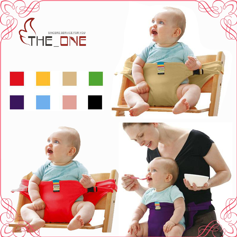 Babystol Portable Infant Seat Product Dining Frokoststol / Seat Sikkerhed Bælte Feeding High Chair Harness baby fodring stol