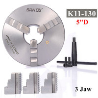 3 Jaw Lathe Scroll Chuck Self Centering Hardened For South Bend Tools K11 130