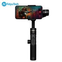 FY FEIYUTECH SPG2 3 оси Бесщеточный Расширенный Bluetooth двойной режимы ручной карданный стабилизатор с OLED Дисплей для смартфонов