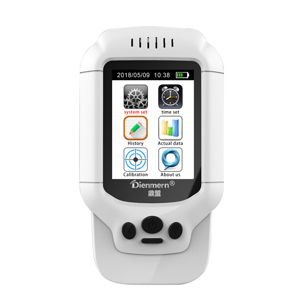 Multifunctional Air Quality Monitor PM2.5 Detector HCHO TVOC PM2.5 PM1.0 PM10 tester Thermometer Hygrometer Air Quality AnalyzerMultifunctional Air Quality Monitor PM2.5 Detector HCHO TVOC PM2.5 PM1.0 PM10 tester Thermometer Hygrometer Air Quality Analyzer