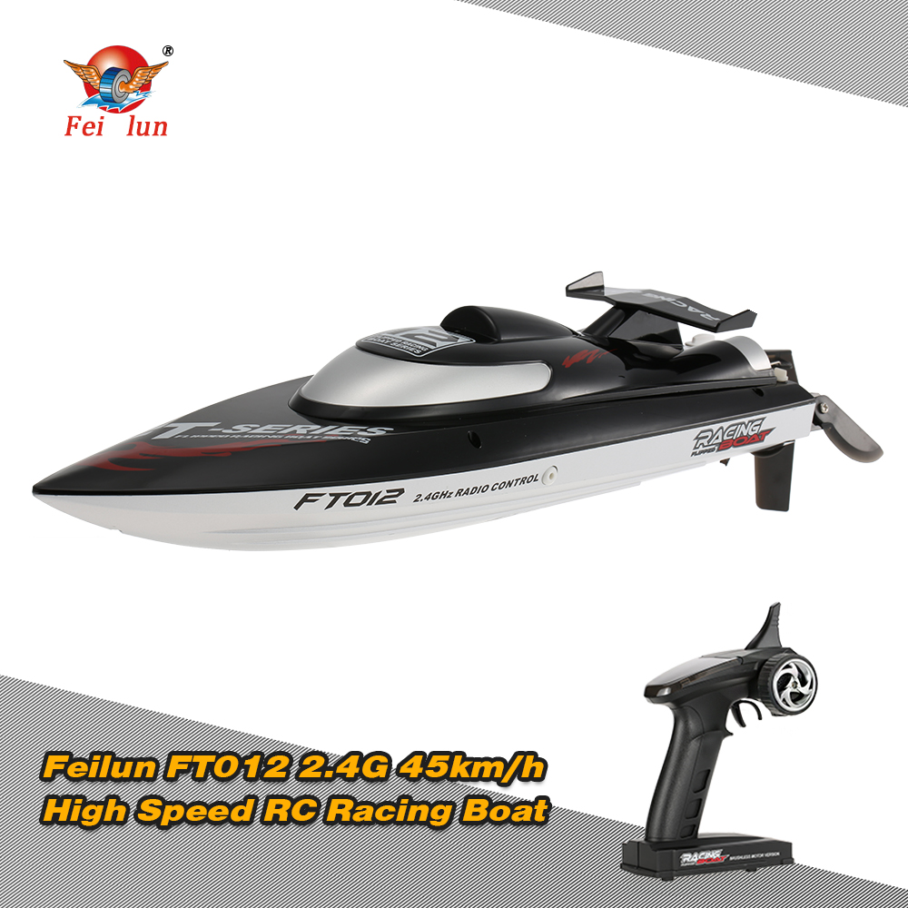 Feilun FT012 2 4G Brushless 45km h High Speed RC Racing Boat with Water Cooling Self