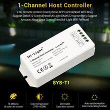 milight 1-Channel LED Host Controller, signal power amplifier DC24V, control by 2.4G remote/phone APP/DMX512/Amazon Alexa voice