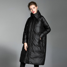 2018 Winter new arrival down jacket women large size loose white duck down women oversize down jacket down coat women 20186002