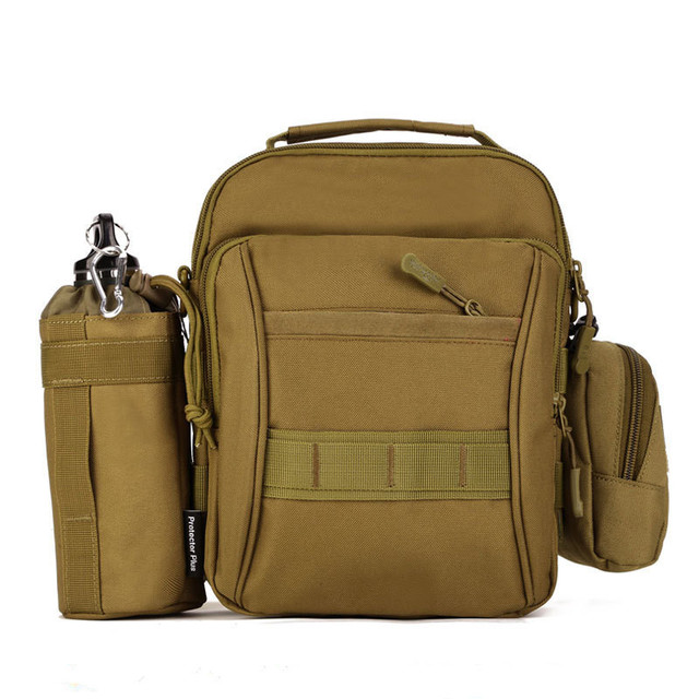 Unisex Waterproof Bag Messenger Pack Leisure Student School Bag Utility Advance Defense Ultra-light Tactical Range Carrier Packs