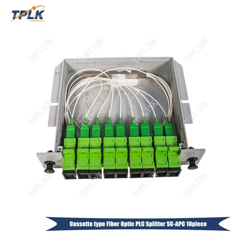 100% Originele 10pcs 1*8 splitter Box Glasvezel SC APC PLC Splitter Cassette Doos Card Plaatsen SC /APC PLC splitter-in Glasvezel uitrustingen van Mobiele telefoons & telecommunicatie op AliExpress - 11.11_Dubbel 11Vrijgezellendag 1