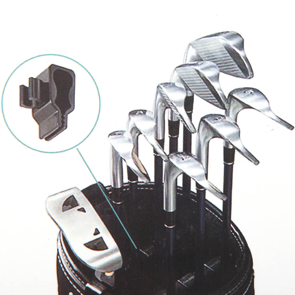 Image 5 - 14Pcs Golf Club Organizers Clips Power Holder Set Club Organizers Outdoor Golf Sports Club Organizers-in Golf Training Aids from Sports & Entertainment