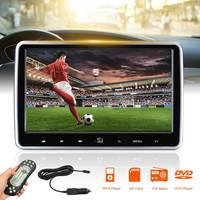 2 шт. 1024*600 Автомобильный подголовник монитор 10,1 дюймов dvd плеер USB/SD/HDMI/FM/игра TFT lcd экран T ouch Кнопка HD цифровой ЖК дисплей экран