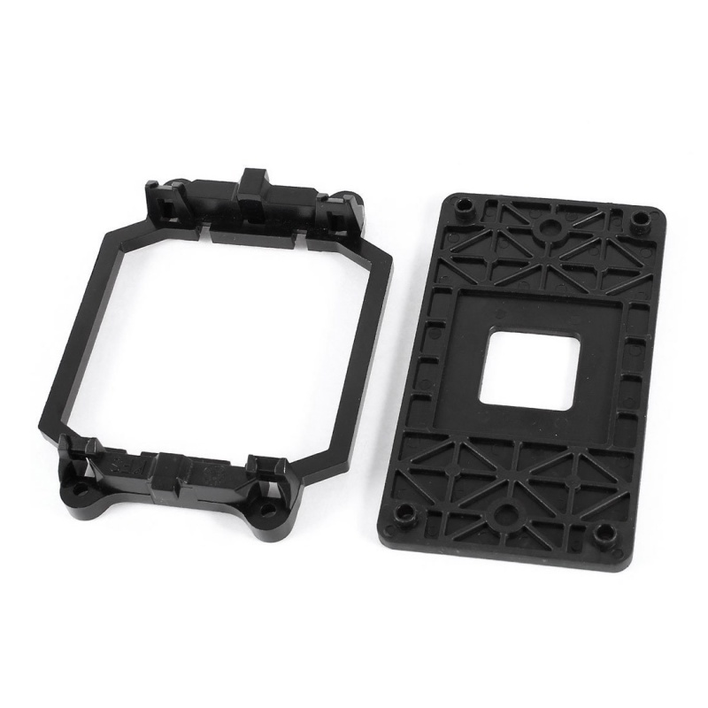 CPU Fan Base Black Plastic For AMD AM2 AM3 Socket