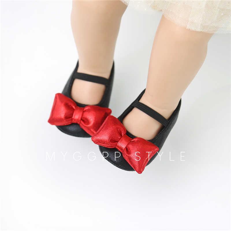 Zapatos de bebé calientes 0-18 M niño princesa niñas Zapatos niños niñas vestido zapatos chico bebé niña fiesta boda primavera Verano PU zapatos