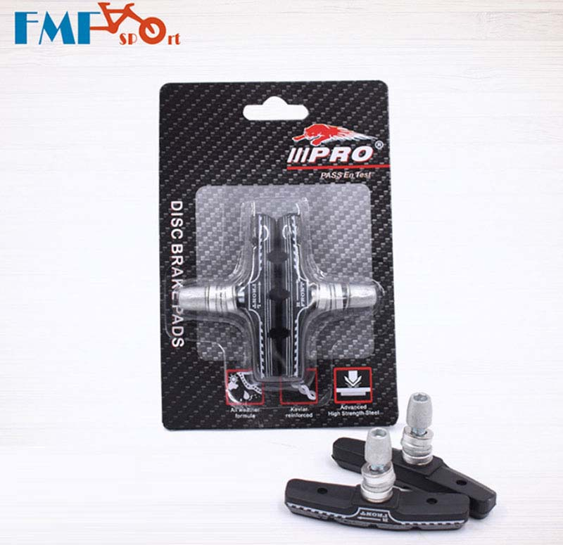 FMF Aluminum+Rubber Bike V/C Brake Shoes Pads Light-Weight Anti-friction Mountain Road for Shimano C-Brake Caliper