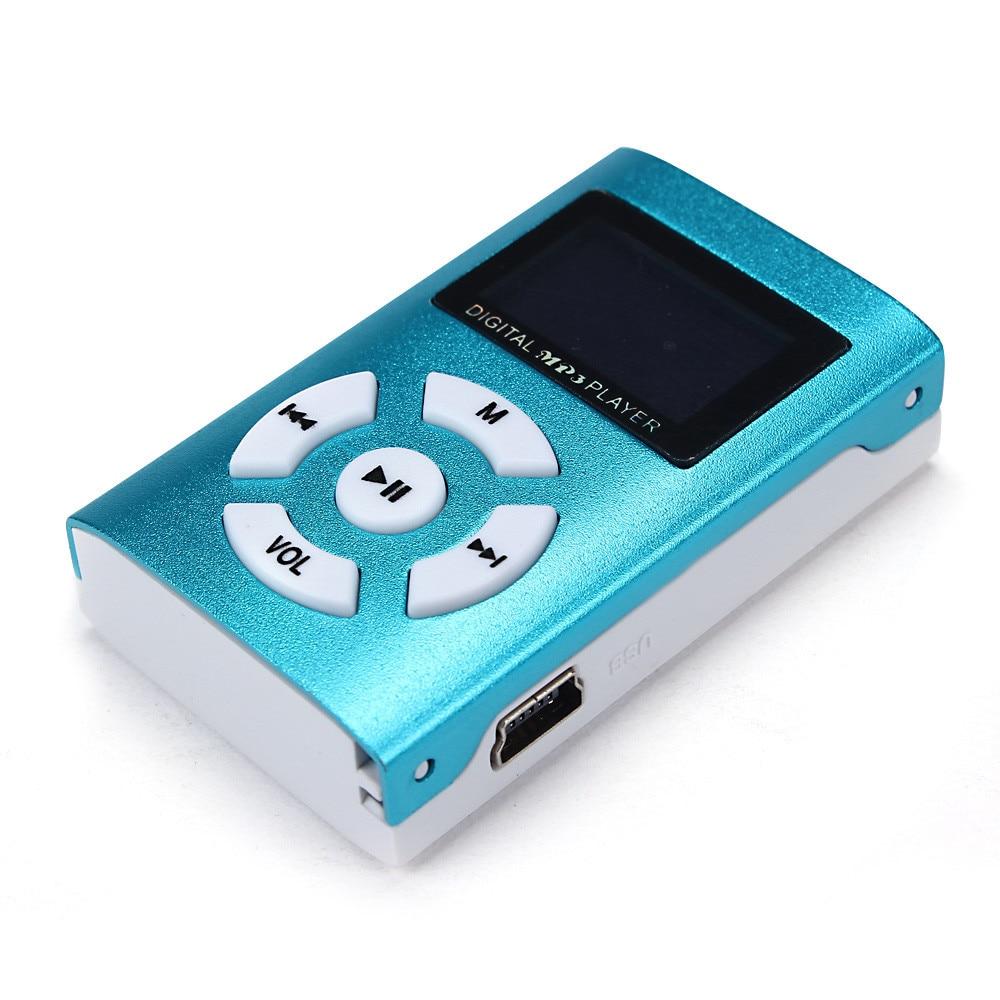 Mini Lcd Screen Mp3 Player Mini Usb Clip Sport Musik Mp3 Player Für Lauf 100% Original