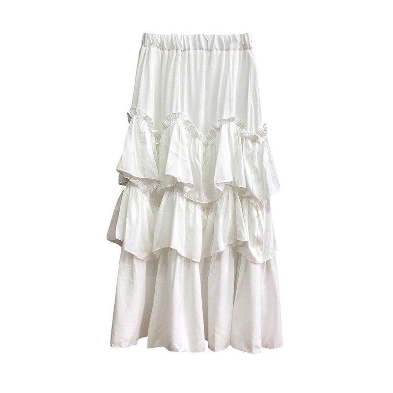 Blanc Ivoire Noir Glisse Jupon Jupon Demi taille jupe plus taille 10//26