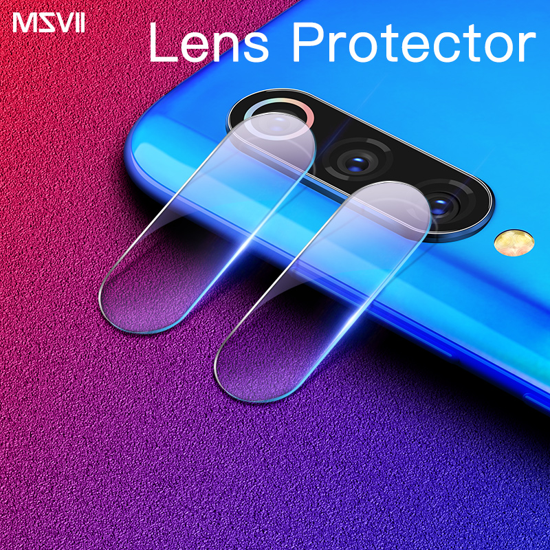 Msvii 2 PCS Camera Len Film For Xiaomi Mi9 Camera Len Tempered Glass Film For Xiaomi Redmi Note 7 Camera Lenses Protector