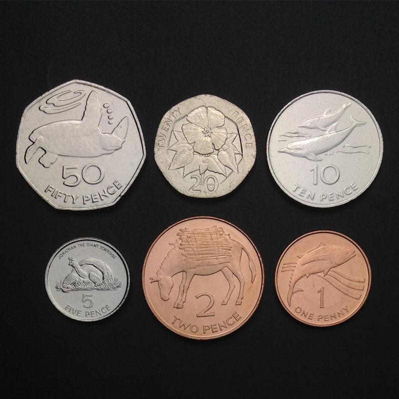 Sri Lanka Coins A Set 10 Pieces UNC